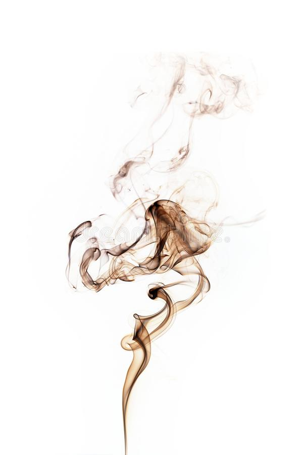 Fumo de Brown fotografia de stock royalty free