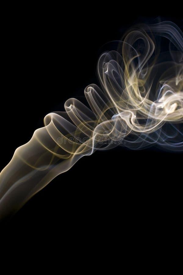 Fumo di turbine immagine stock