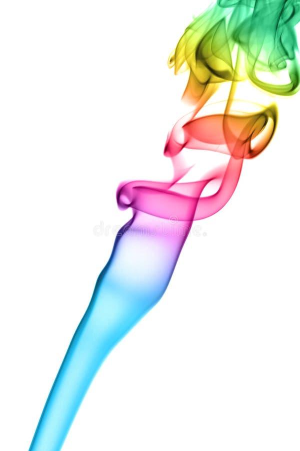 Fumo do arco-íris imagens de stock royalty free