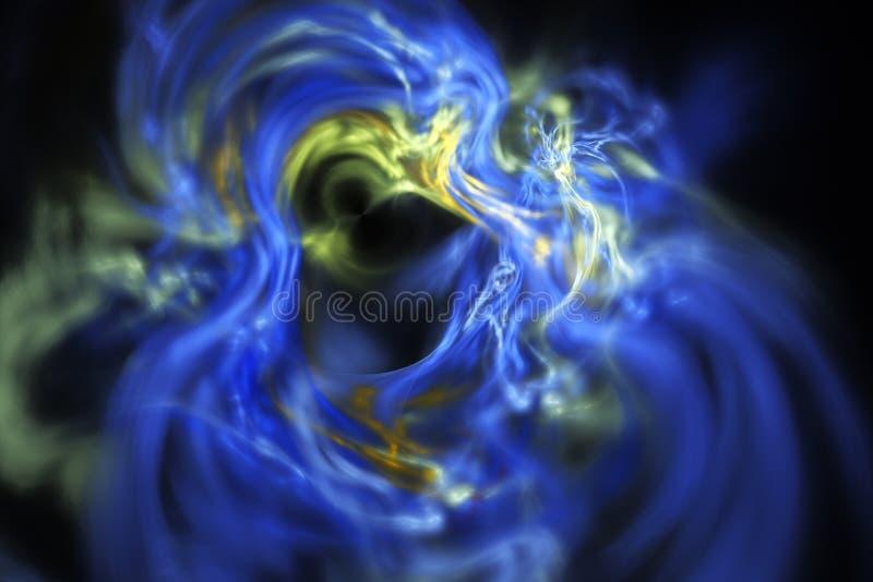 Fumo do Fractal imagens de stock royalty free