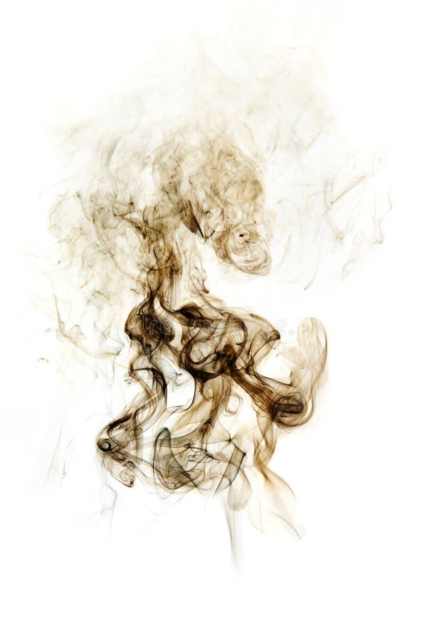 Fumo isolado no fundo branco. foto de stock royalty free