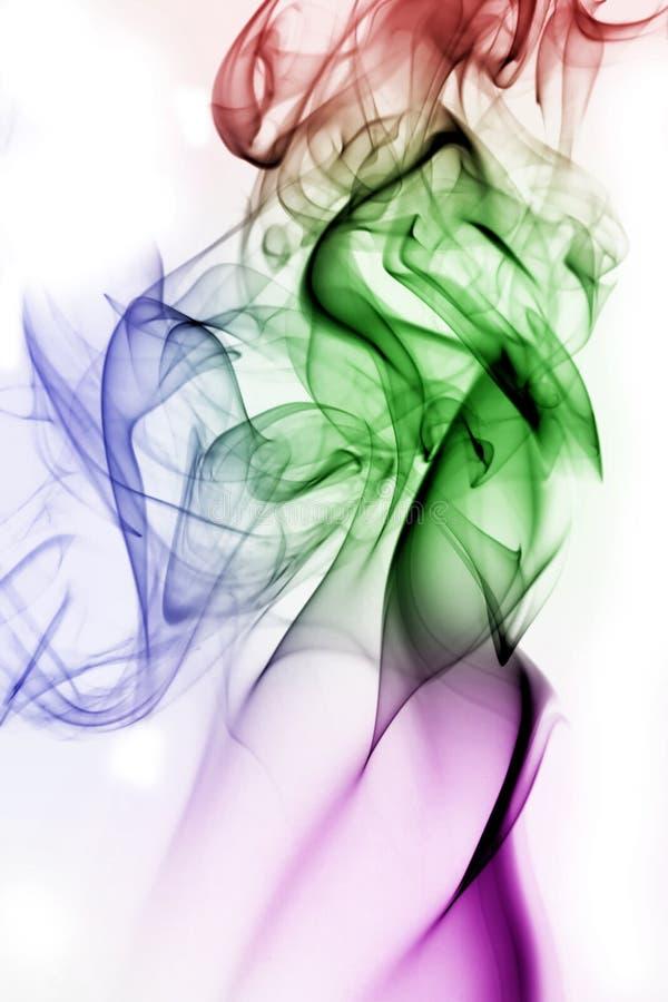 Download Fumo multicolore immagine stock. Immagine di caos, turbolento - 3895435