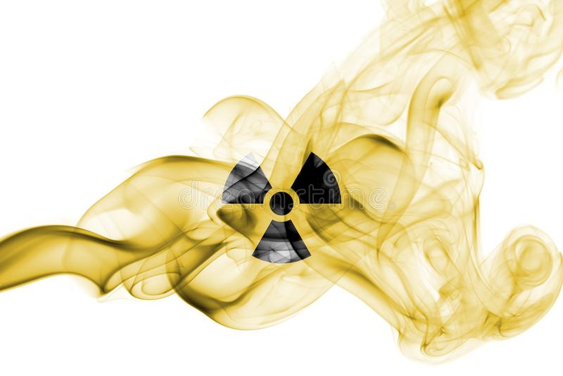 Fumo nuclear fotografia de stock royalty free