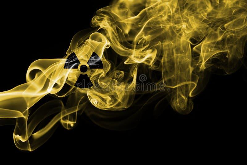 Fumo nucleare immagine stock