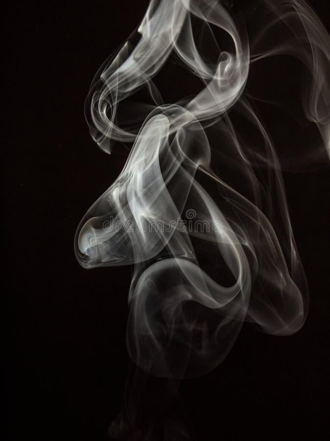 Fumo operato fotografia stock libera da diritti