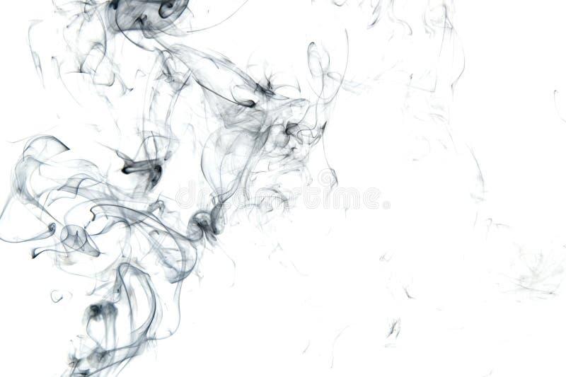 Fumo preto isolado imagem de stock royalty free