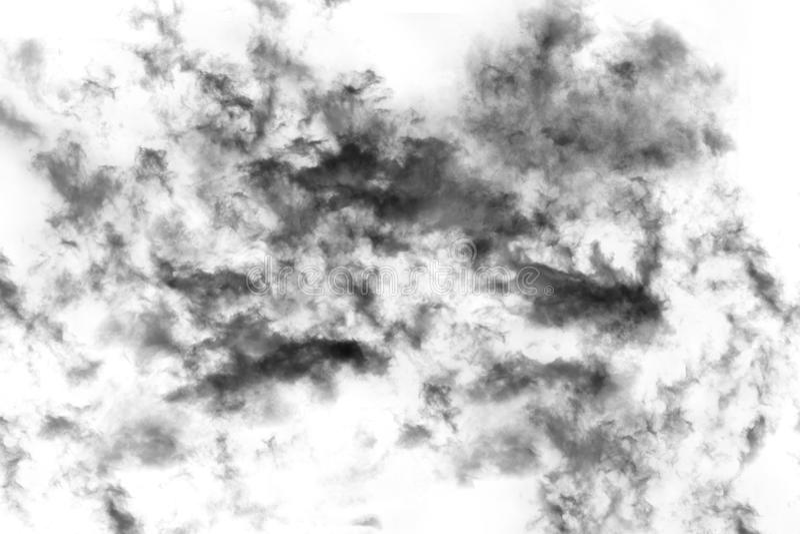 Fumo Textured, preto abstrato fotos de stock royalty free