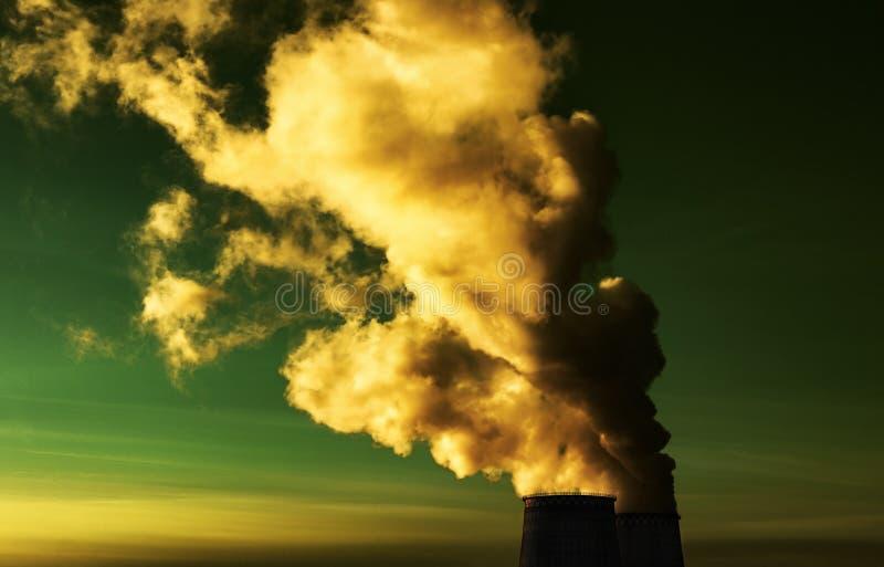 Fumo tossico immagine stock