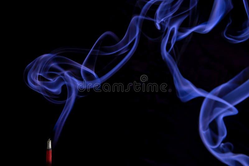 Fumo, vara do incenso fotografia de stock royalty free