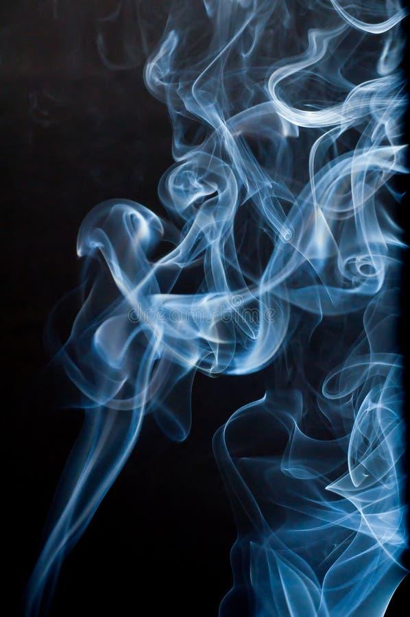 Fumo Wispy imagem de stock