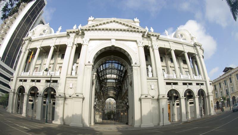 Função de governo guayaquil Equador do salão de cidade foto de stock royalty free