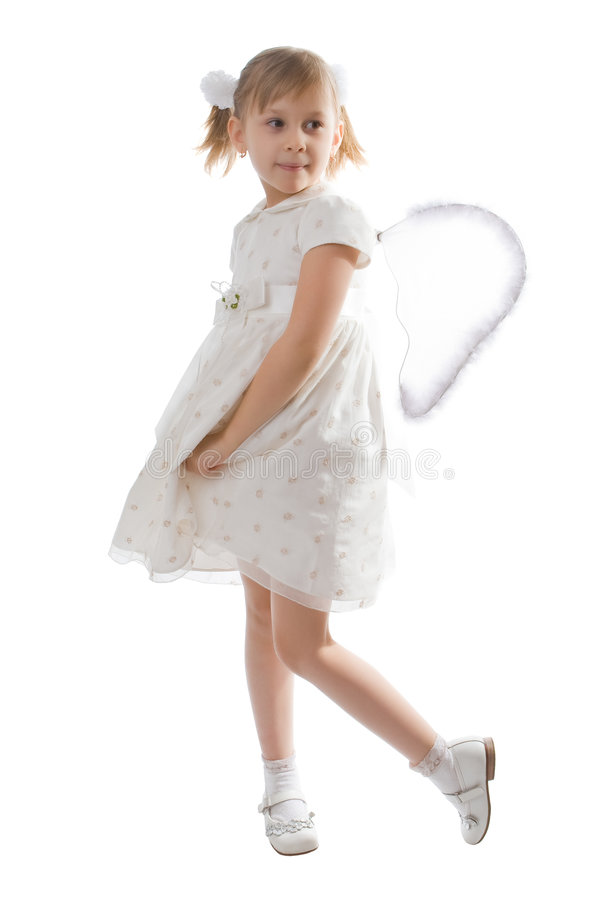 Download Fun angel stock photo. Image of hair, fairy, caucasian - 8389038