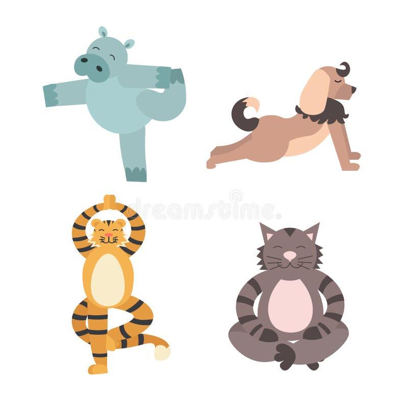 Animals Yoga Stock Illustrations 671 Animals Yoga Stock Illustrations Vectors Clipart Dreamstime