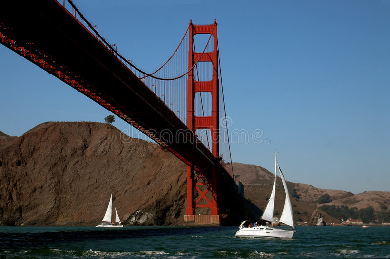 Fun On The Bay. This image, of the Golden Gate Bridge, was captured from a fishing boat i hired to take me out on the San Francisco Bay for photo opportunities