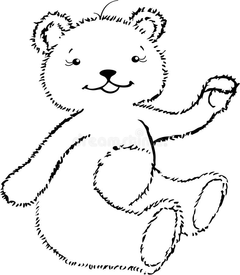 The Fun Bear-cup Stock Images