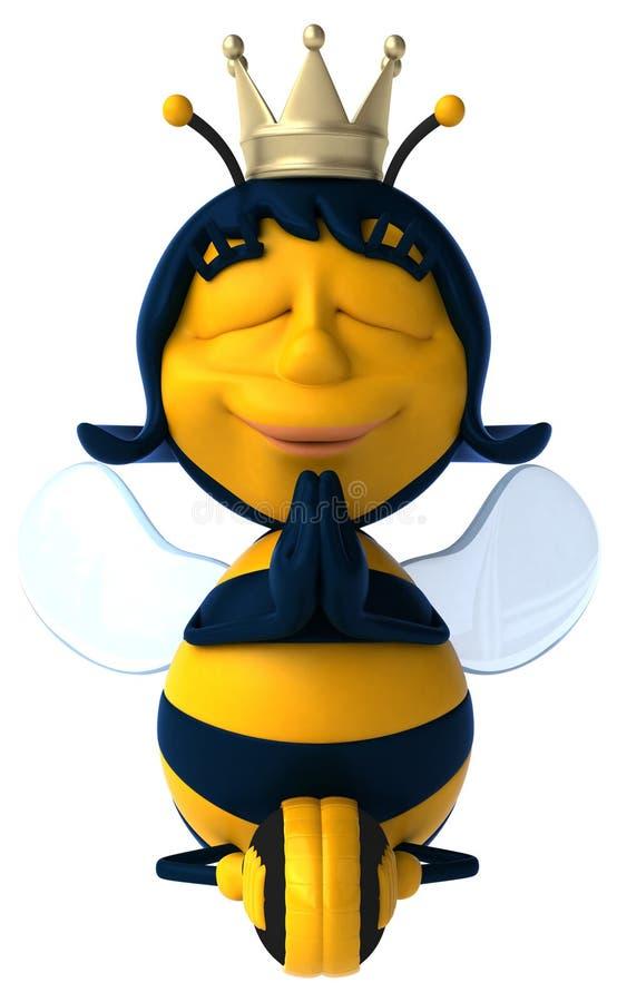 Fun bee royalty free illustration
