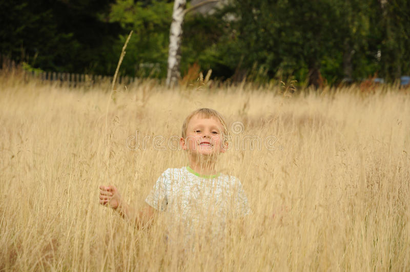 Download Fun in bent grass stock image. Image of smiling, hiding - 26054717