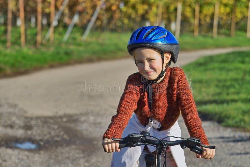 Download Fun with bike stock image. Image of bike, headpiece, field - 344475