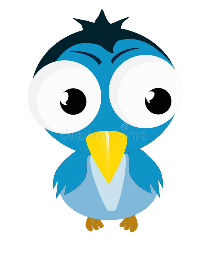 Download Fun bird stock vector. Image of colored, character, illustration - 11579842