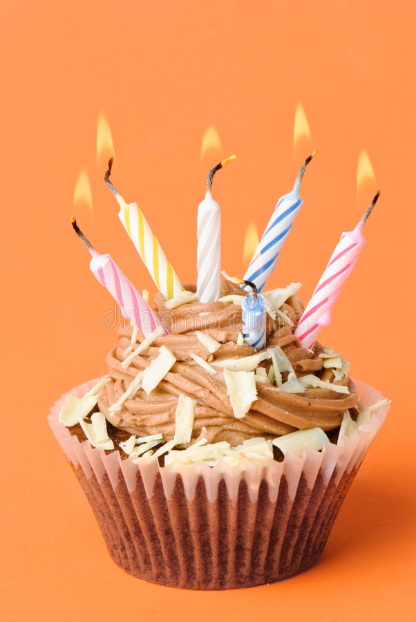 Awesome Fun Birthday Cake Stock Photo Image Of Paper Cupcake 8906466 Funny Birthday Cards Online Alyptdamsfinfo