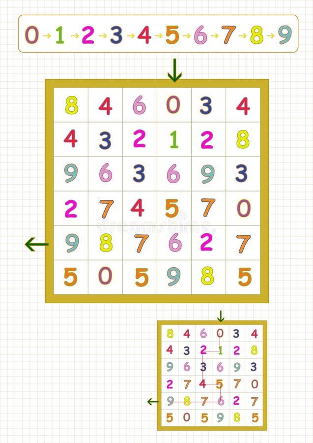 fun brain games for kids stock vector illustration of find 72586259. Black Bedroom Furniture Sets. Home Design Ideas