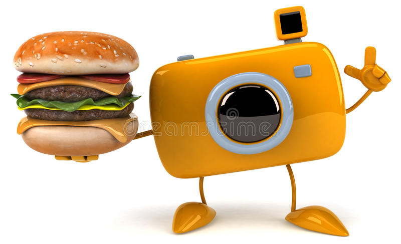 Fun camera vector illustration