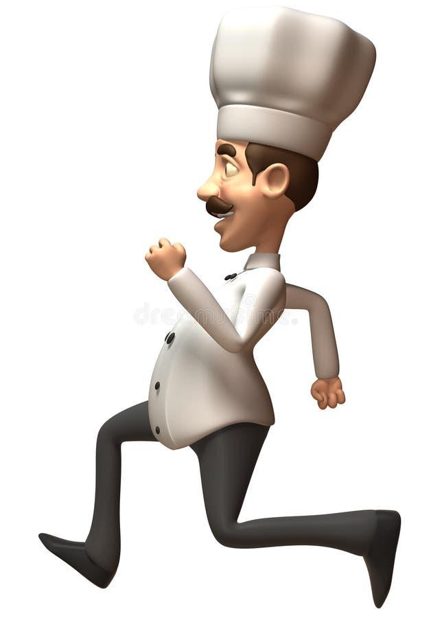 Download Fun Chef Running Stock Photos - Image: 5540303
