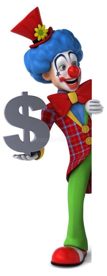 Fun clown vector illustration