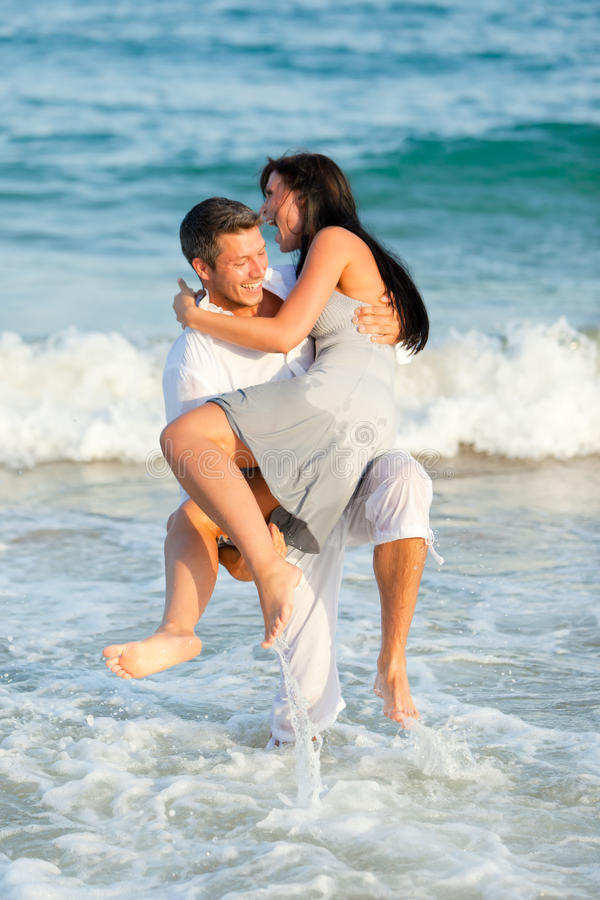 Download Fun couple stock photo. Image of nature, active, holiday - 15402886
