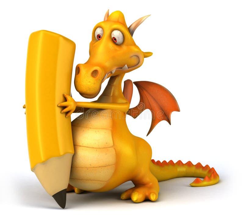 Download Fun dragon stock illustration. Image of fantasy, character - 31975656
