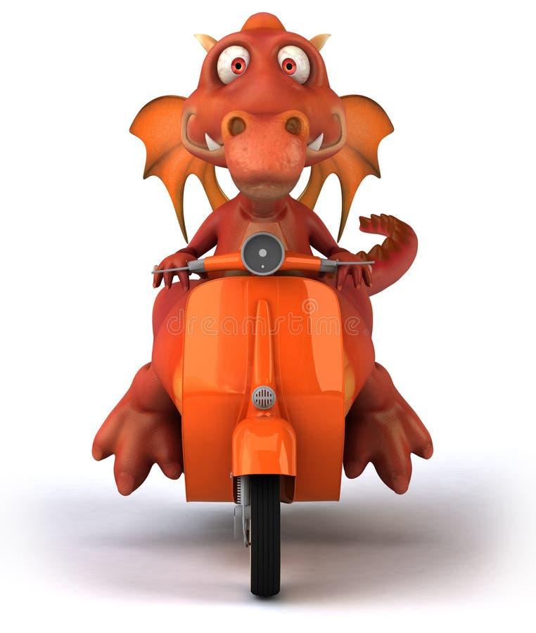 Download Fun dragon stock illustration. Illustration of fantasy - 34650045