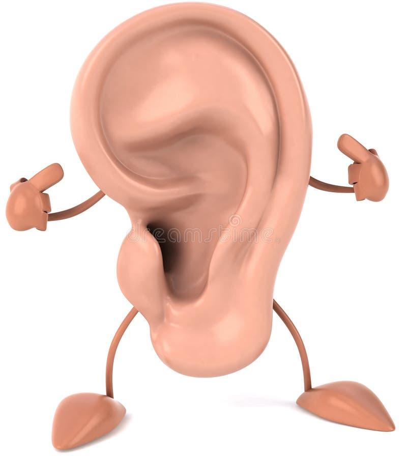 Fun ear stock illustration