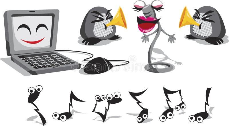 Fun Electronics royalty free illustration