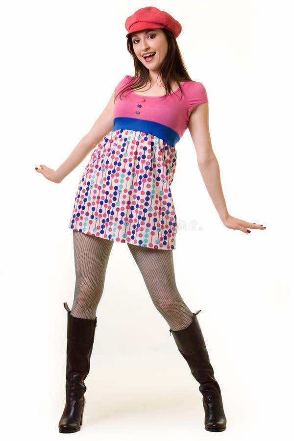 Fun fashion stock photo