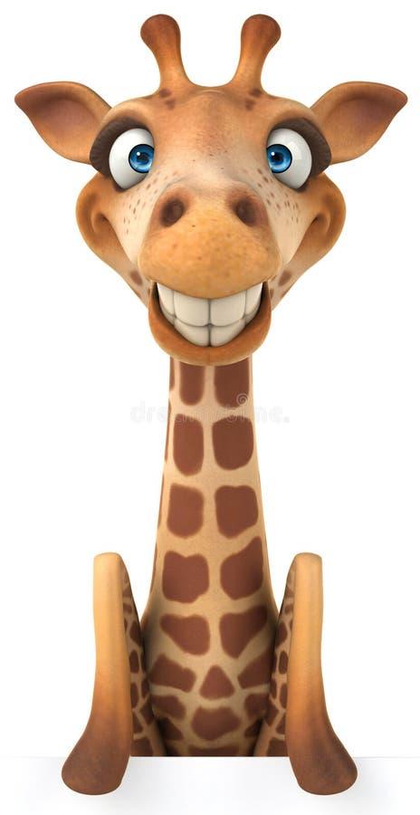 Download Fun giraffe stock illustration. Illustration of animals - 32412743