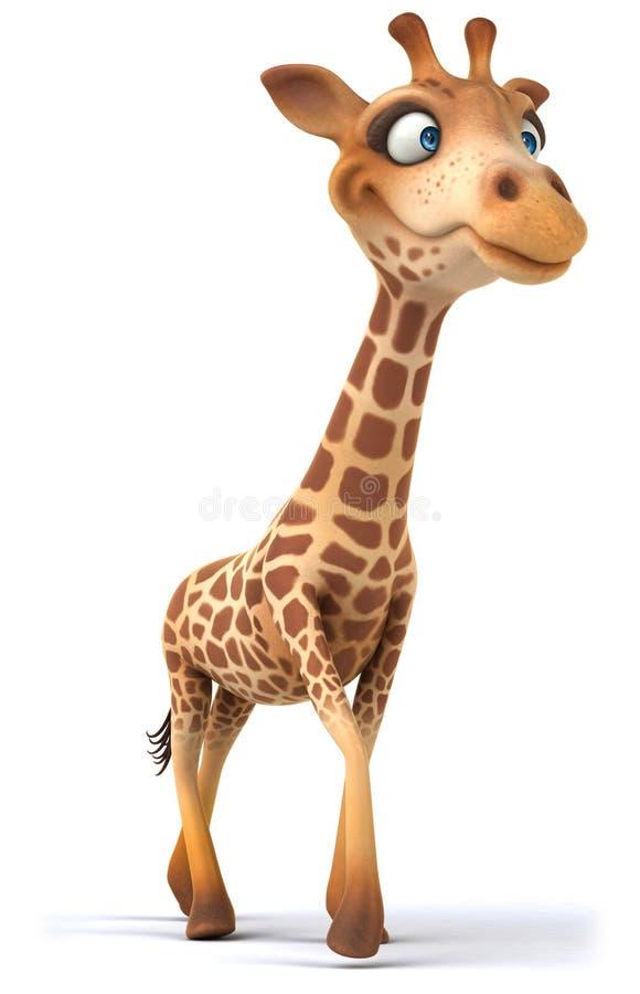 Download Fun giraffe stock illustration. Illustration of drive - 32736807