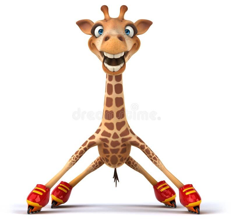 Download Fun giraffe stock illustration. Image of grazing, calf - 33230621