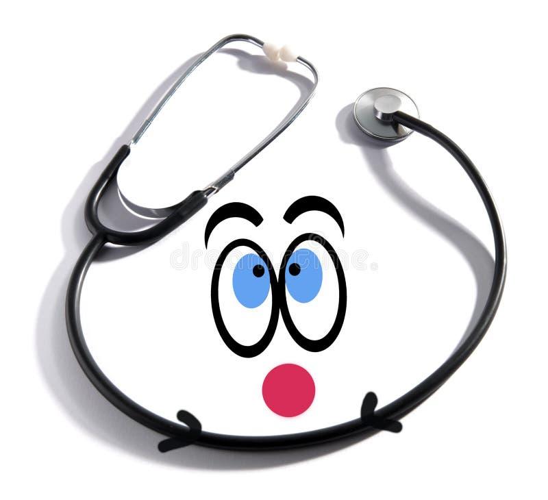 Fun happy doctor concept royalty free illustration