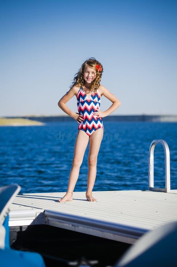 Download Fun at the lake dock stock photo. Image of canada, active - 29208634