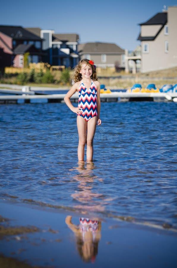 Download Fun At The Lake Neighbourhood Stock Images - Image: 29208674