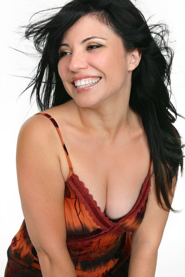 Fun Loving Woman stock photography