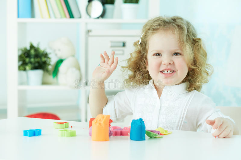 Download Fun at nursery stock image. Image of colorful, female - 33379835