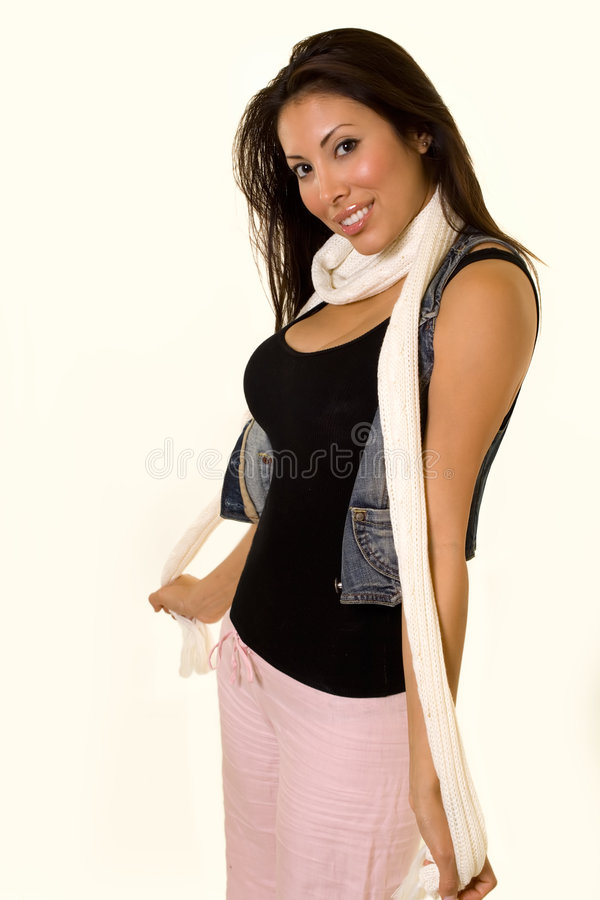 Fun outfit royalty free stock photography
