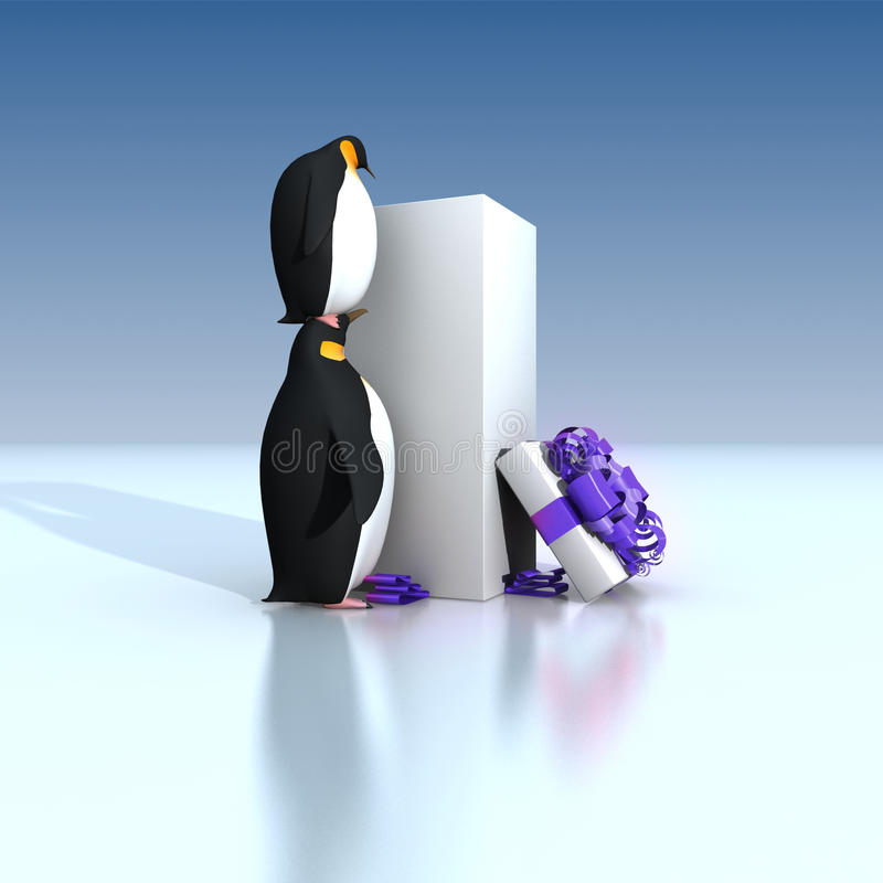 Download Fun Penguins Royalty Free Stock Images - Image: 21133109