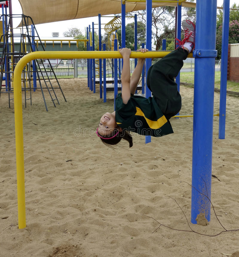 Fun In The Playground. stock photography