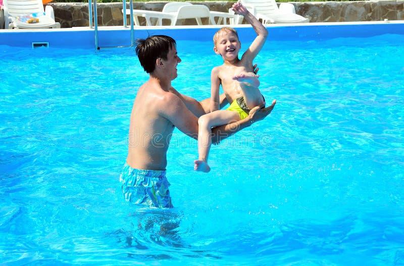 Fun in pool