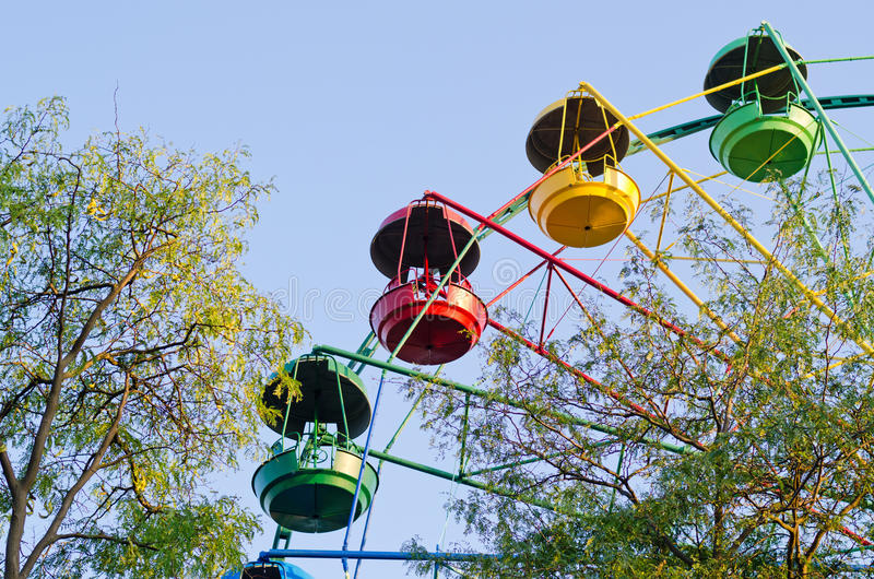 Download Fun ride at a fairground stock image. Image of park, suspended - 27240763