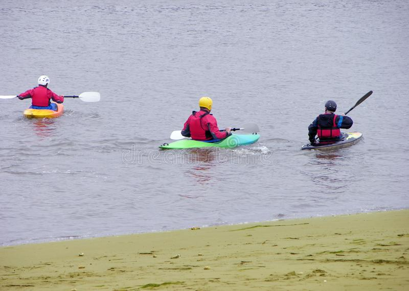 Download Fun on the river stock image. Image of ripple, kayak, relaxation - 2382025