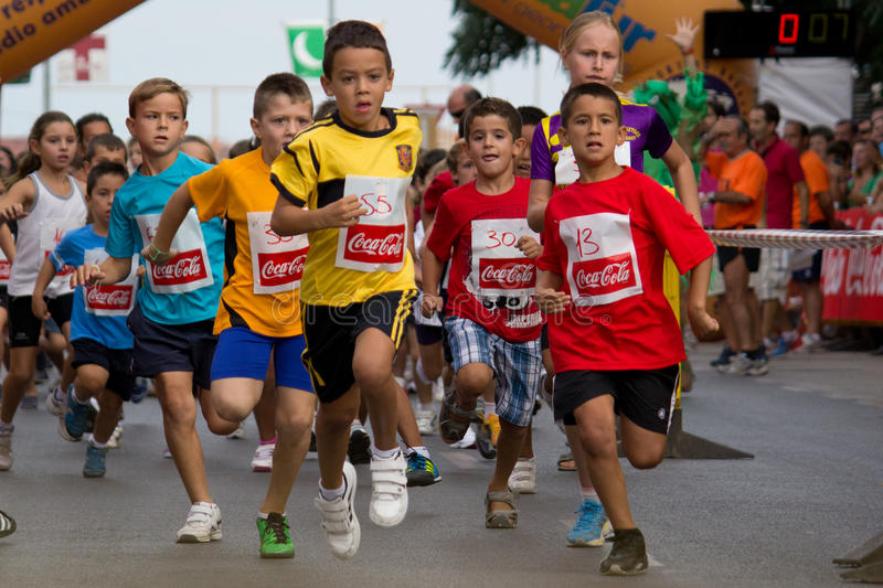 Download Fun Run editorial stock image. Image of europe, sport - 26714854