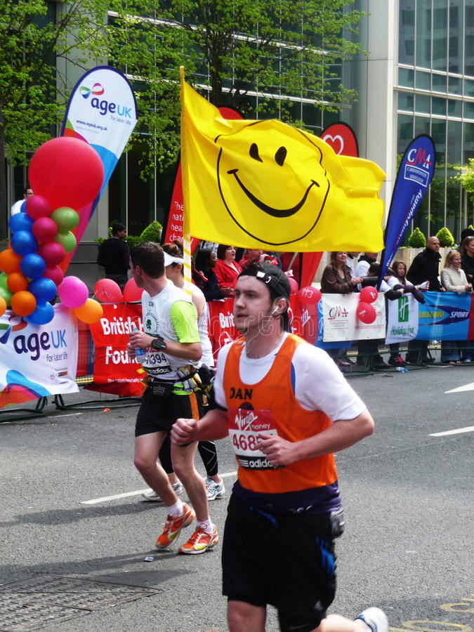 Download Fun Runners At London Marathon 25th April 2010 Editorial Stock Image - Image: 14099549